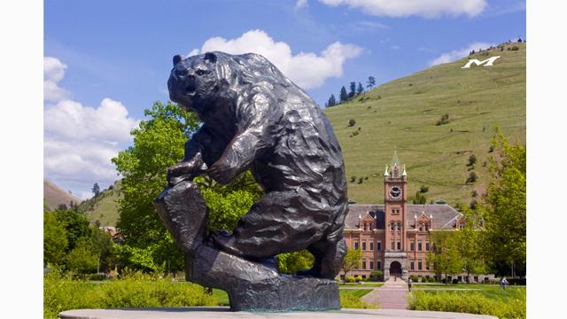 "The University of Montana ""Griz"" and Main Quad"