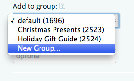 group links on iTunes