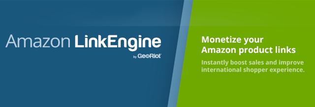 Amazon LinkEngine: Monetize your Amazon product Links