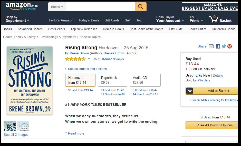 Geniuslink in Amazon UK Storefront