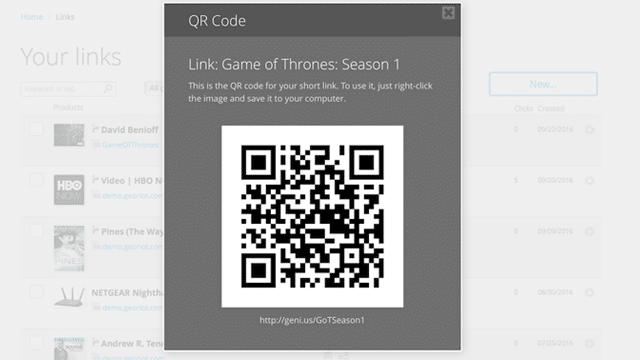 Geniuslink QR Code