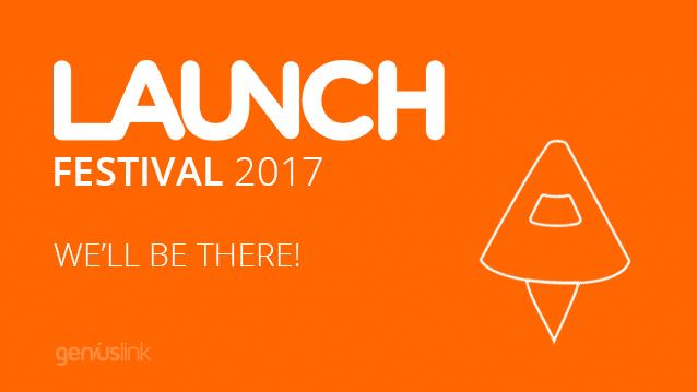 Geniuslink at LAUNCH Festival 2017