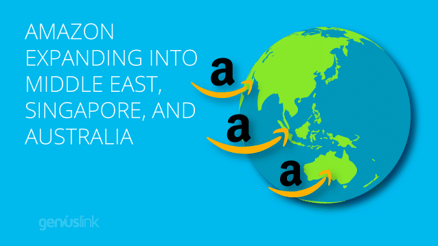 Amazon Expanding into Middle East, Singapore, and Australia