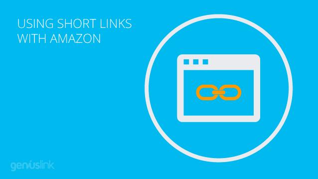 Using short amazon links.