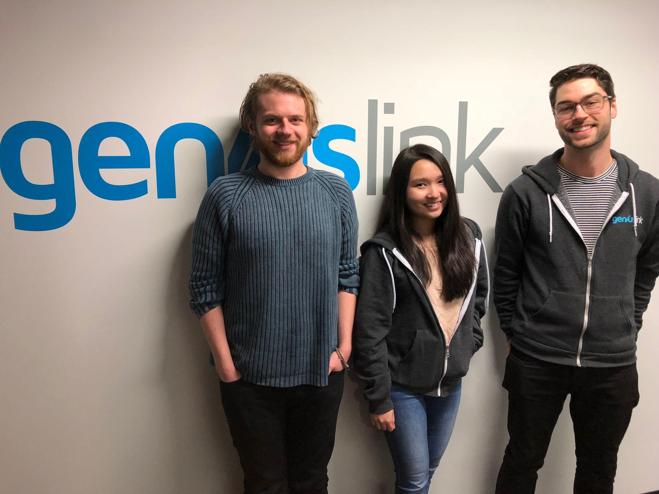 Introducing Andy, Natasha and Kyle!