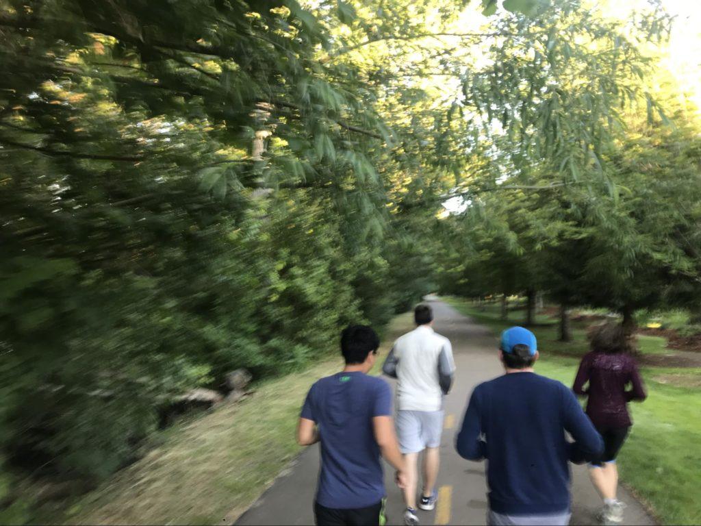 Geniuslink Team Running