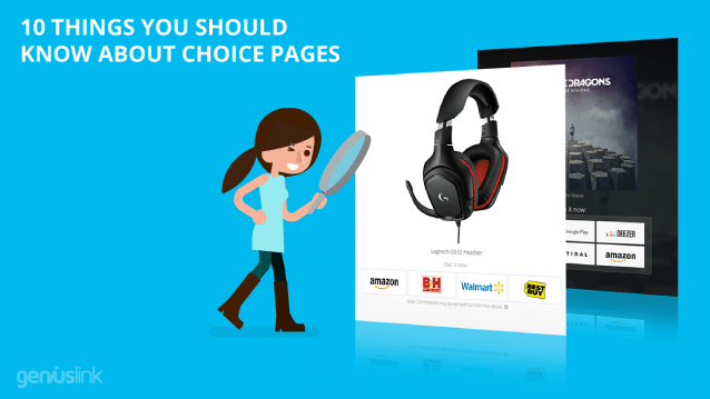 What you should know about choice pages