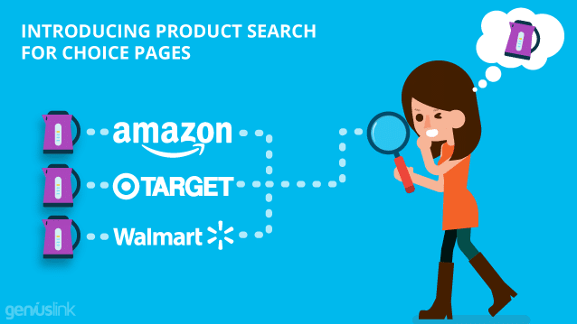 Introducing Product Search for Choice Pages