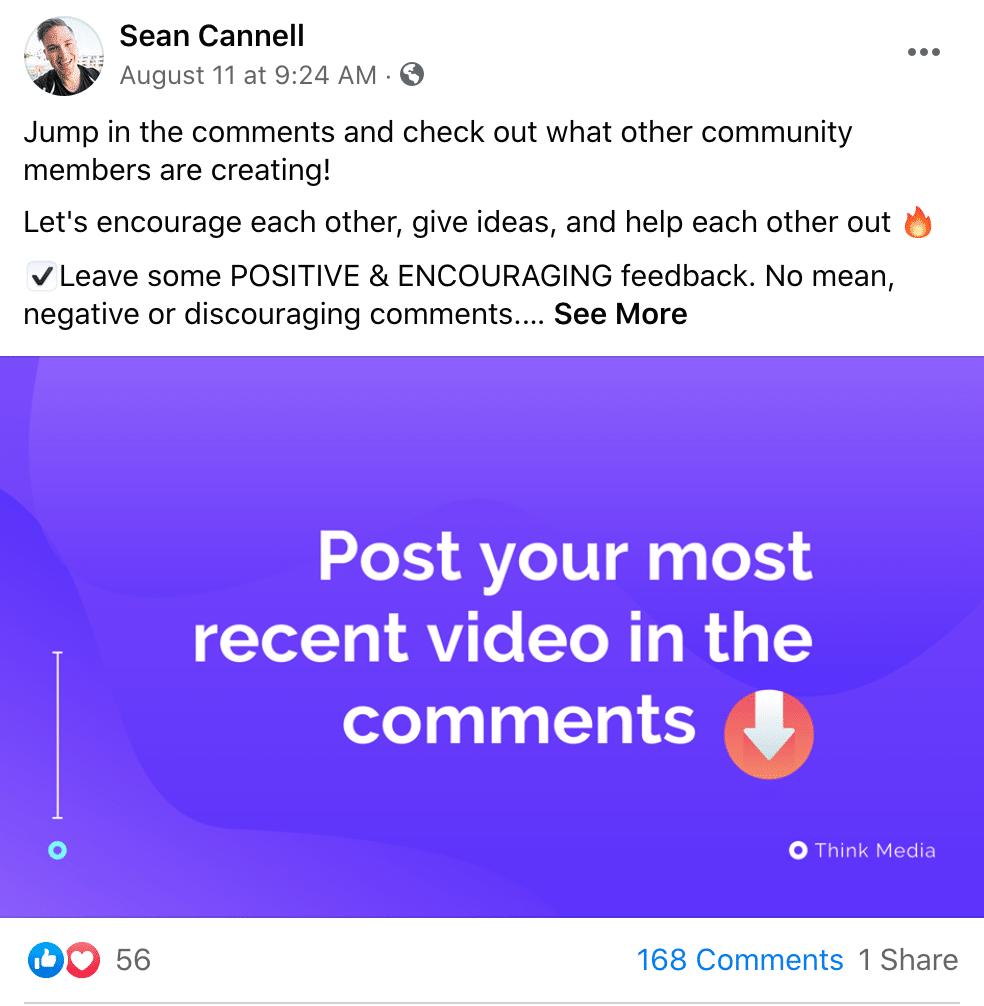 social media affiliate marketing Sean Cannell.