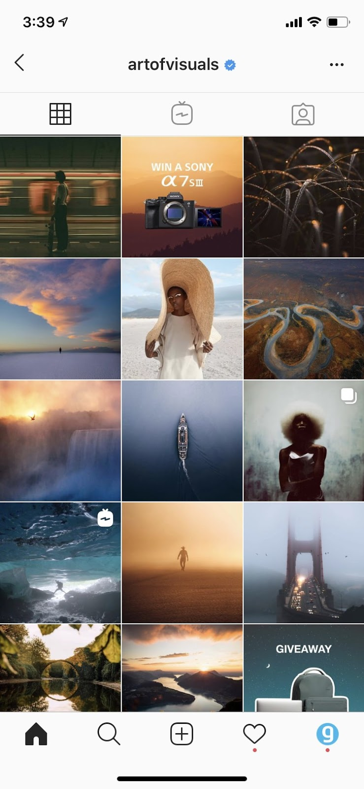 Cohesive Theme for your Instagram.