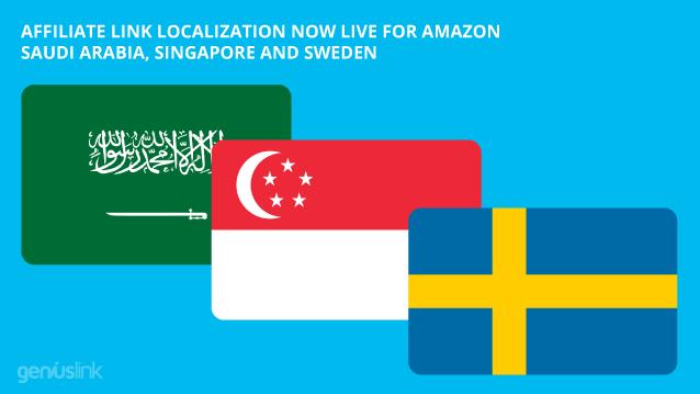 Saudi Arabia, Singapore and Sweden affiliate link localization