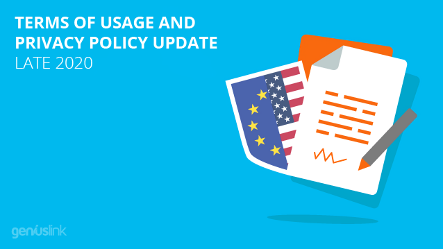 Terms of Usage and Privacy Policy Updat