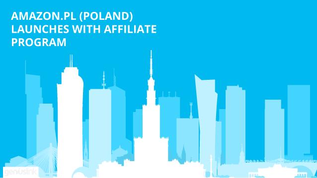Amazon Poland launches with affiliate programs